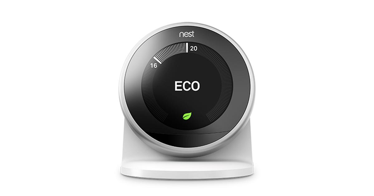 Standaard voor de 3e generatie nest learning thermostat